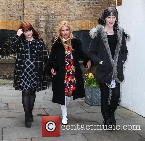 Paloma Faith, Jordan Gray and Heather Cameron-hayes 2