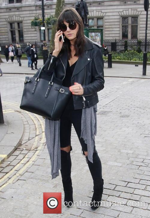 Lilah Parsons out in Central London