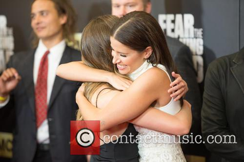 Alycia Debnam-carey and Mercedes Mason