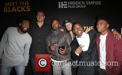 Rob Gronkowski, Jamie Foxx, Deon Taylor and Guests 3