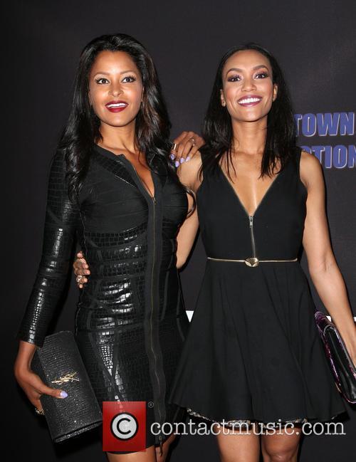 Claudia Jordan and Annie Ilonzeh 4