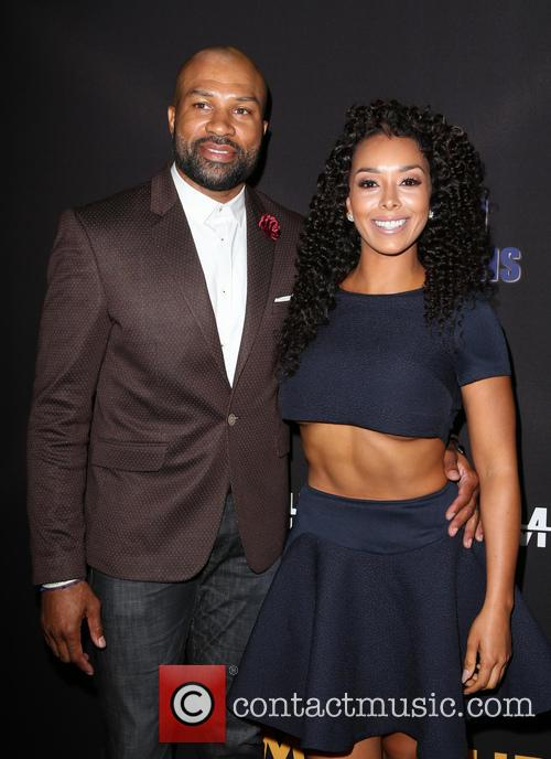 Derek Fisher and Gloria Govan 4