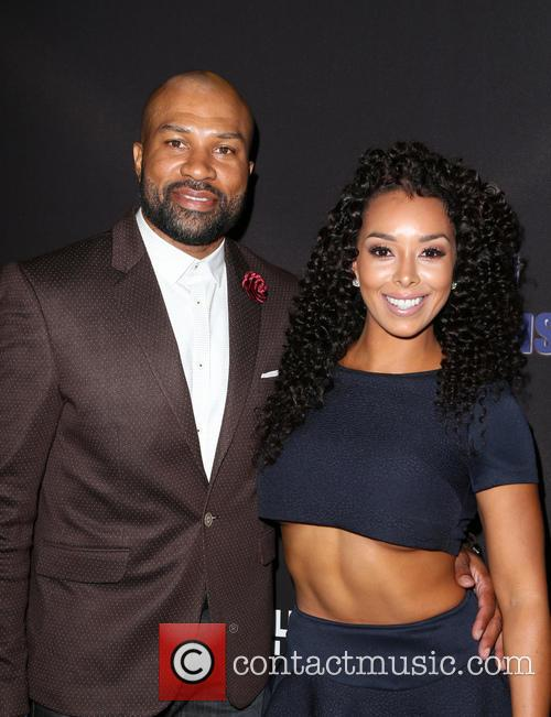Derek Fisher and Gloria Govan 6