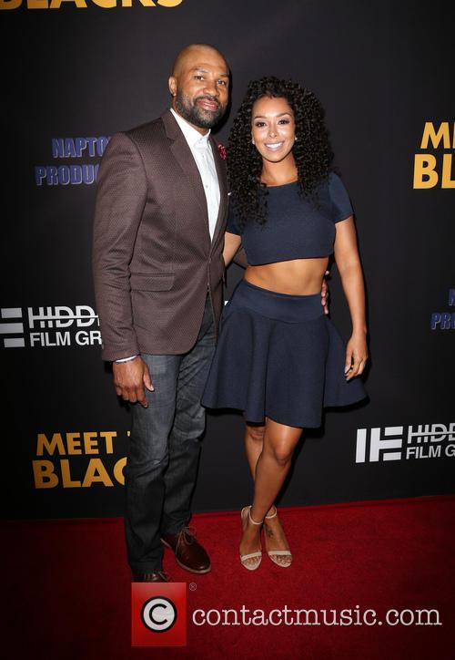 Derek Fisher and Gloria Govan 7