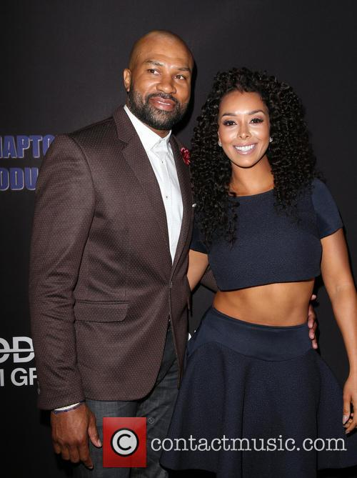 Derek Fisher and Gloria Govan 8