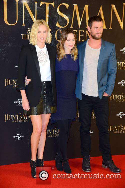 Charlize Theron, Emily Blunt and Chris Hemsworth 2