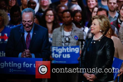 Charles Schumer and Hillary Clinton 1