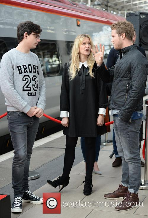 Edith Bowman, Sam Branson and Matt Richardson 2