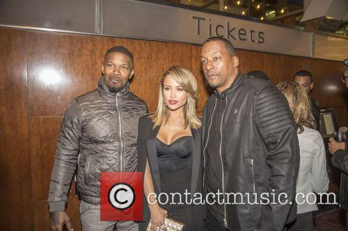 Jamie Foxx and Zulay Henao 1