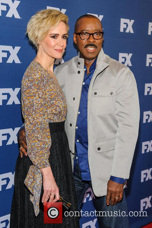 Sarah Paulson and Courtney B. Vance 1