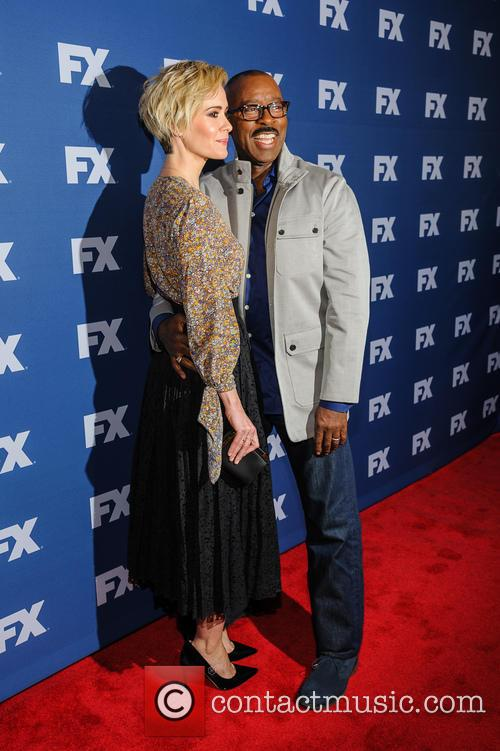 Sarah Paulson and Courtney B. Vance 2