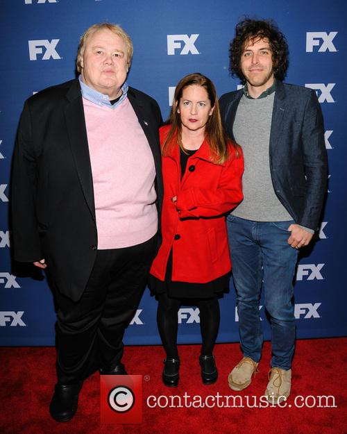Louie Anderson, Martha Kelly and Jonathan Krisel 1