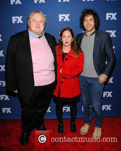 Louie Anderson, Martha Kelly and Jonathan 2