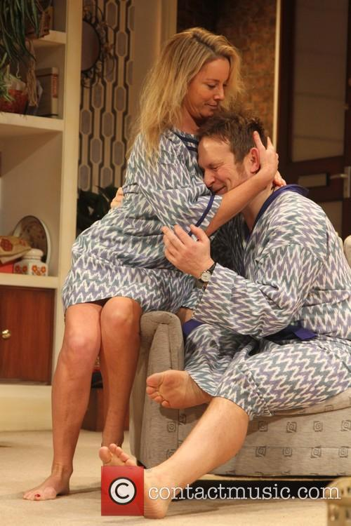 Tamsin Outhwaite and Jason Merrells 3