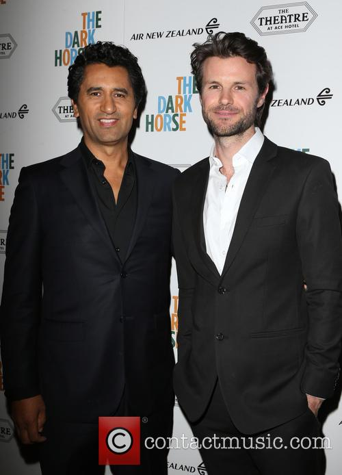 Cliff Curtis and James Napier Robertson 5