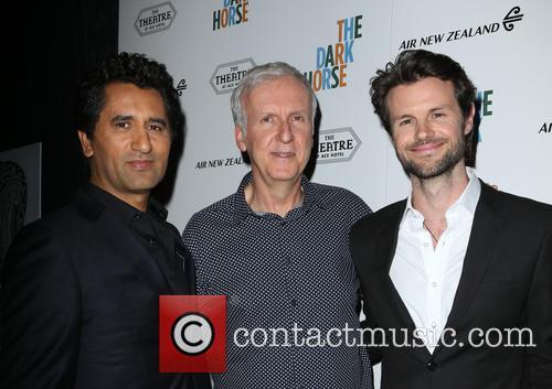 Cliff Curtis, James Cameron and James Napier Robertson 6