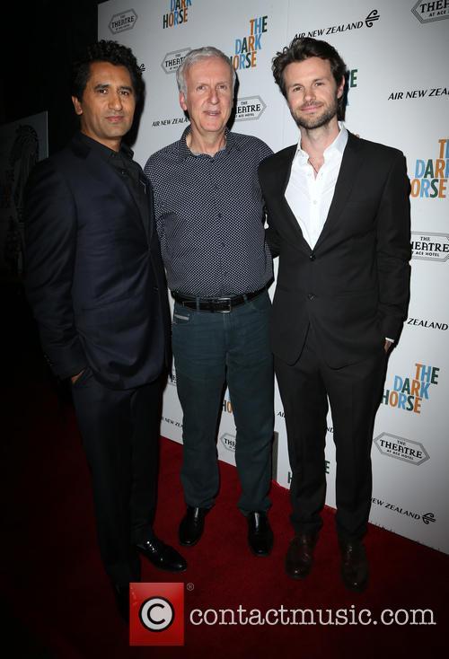 Cliff Curtis, James Cameron and James Napier Robertson