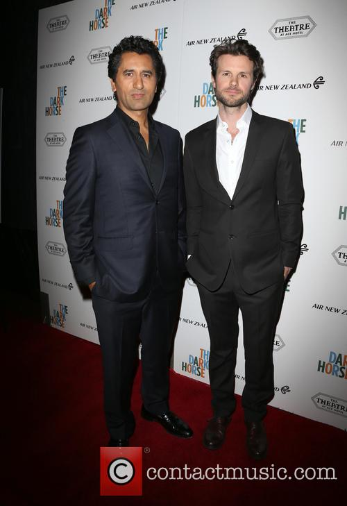 Cliff Curtis and James Napier Robertson 9