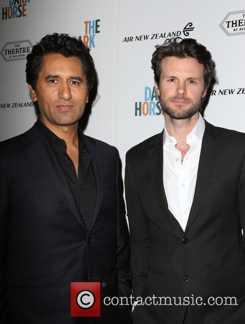 Cliff Curtis and James Napier Robertson 11