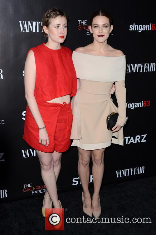 Kate Lyn Sheil and Riley Keough 7