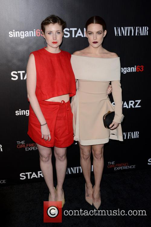 Kate Lyn Sheil and Riley Keough 9