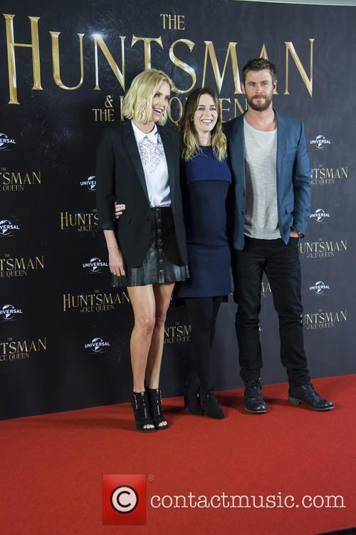 Charlize Theron, Emily Blunt and Chris Hemsworth 1