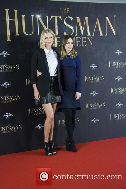 Charlize Theron and Emily Blunt 7