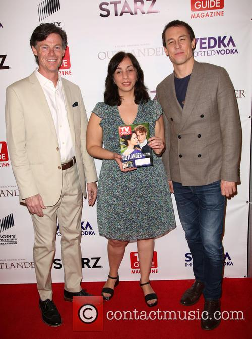 Paul Turcotte, Nerina Rammairone and Tobias Menzies 1