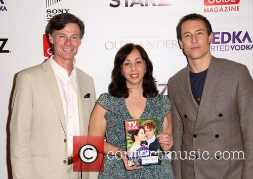 Paul Turcotte, Nerina Rammairone and Tobias Menzies 2