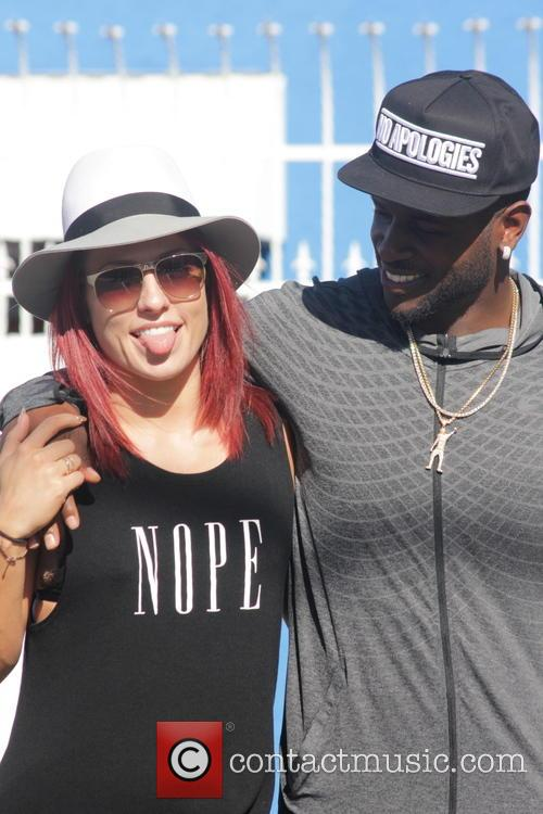 Sharna Burgess and Antonio Brown 2
