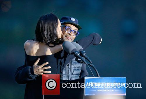 Rosario Dawson and Spike Lee 7