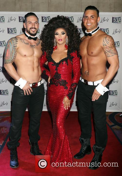 Shangela and Chippendales 8