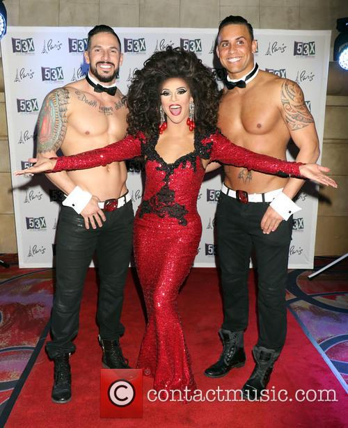 Shangela and Chippendales 9