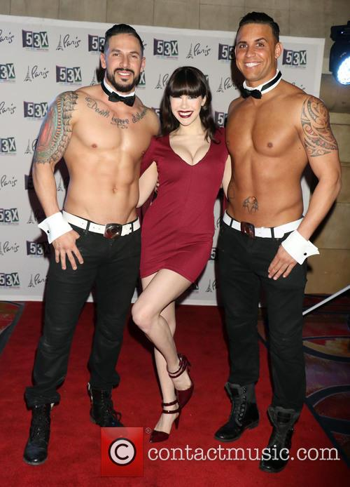 Claire Sinclair and Chippendales 5