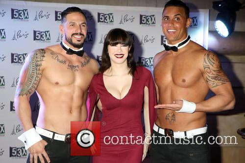 Claire Sinclair and Chippendales 6