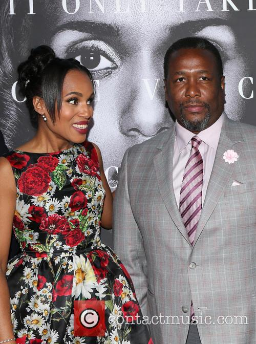 Kerry Washington and Wendell Pierce