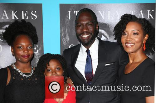 Rick Famuyiwa, Glenita Mosley and Daughters 6