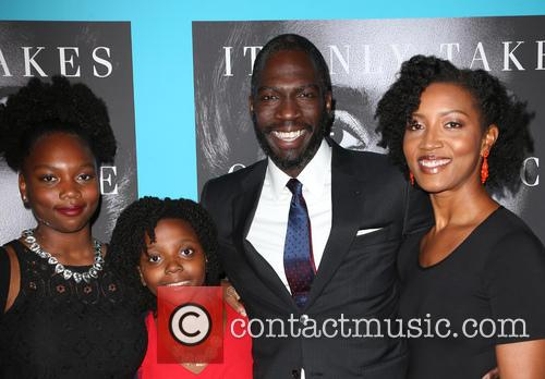 Rick Famuyiwa, Glenita Mosley and Daughters 7