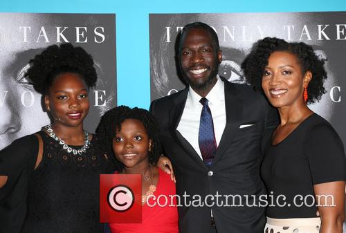 Rick Famuyiwa, Glenita Mosley and Daughters 8