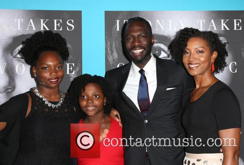 Rick Famuyiwa, Glenita Mosley and Daughters 9