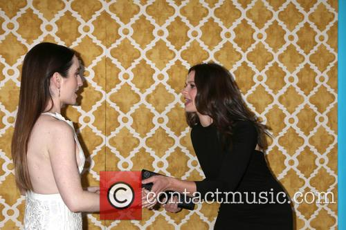 Zoe Lister-jones and Katie Lowes