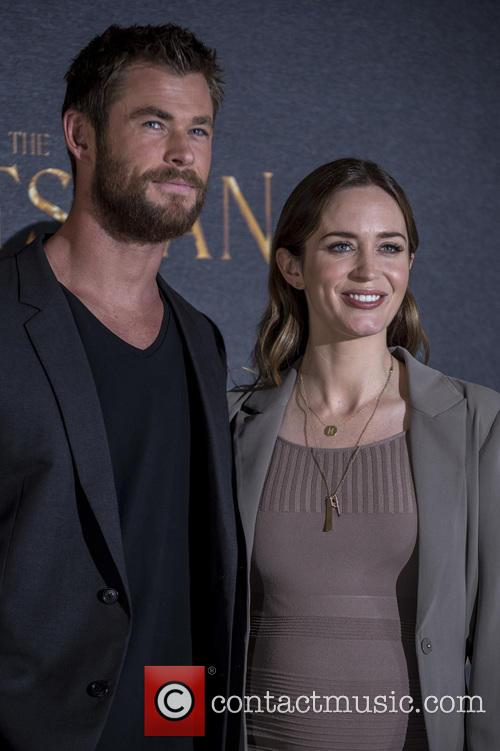 Chris Hemsworth and Emily Blunt 9