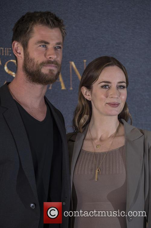 Chris Hemsworth and Emily Blunt 10