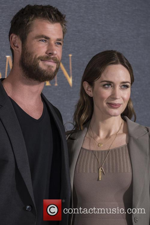 Chris Hemsworth and Emily Blunt 11