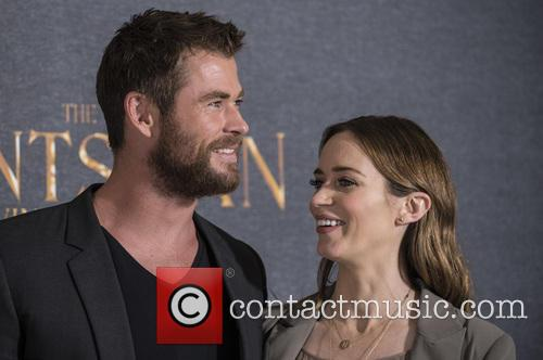 Chris Hemsworth and Emily Blunt