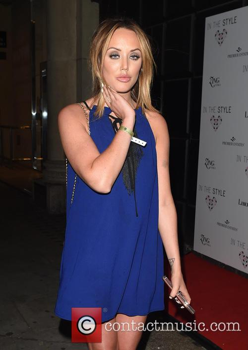 Celebs Pictured arriving at In The Style Party...