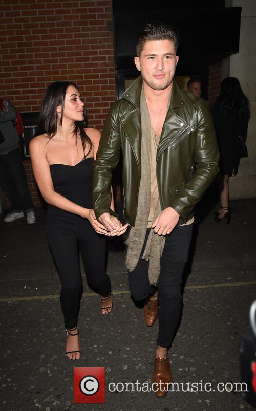 Marnie Simpson and Jordan Davies 8