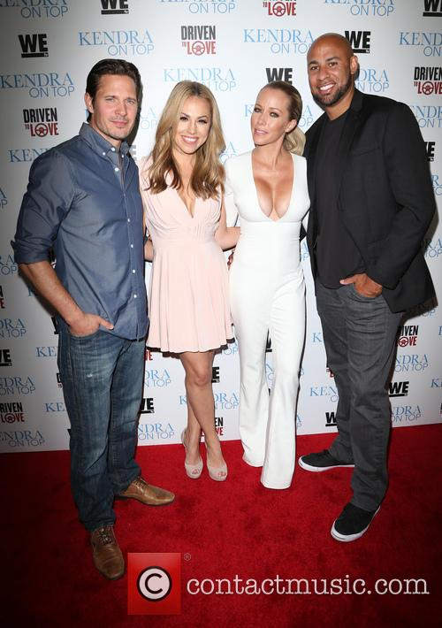 Kyle Carlson, Jessica Hall, Kendra Wilkinson and Hank Baskett 2