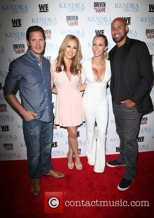 Kyle Carlson, Jessica Hall, Kendra Wilkinson and Hank Baskett 3