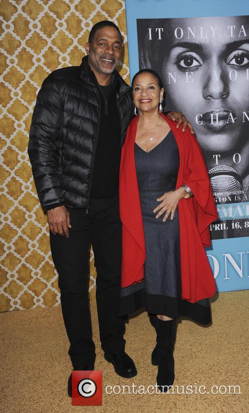 Norm Nixon and Debbie Allen 1